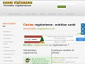NUTRITION : Cuisine végétarienne gastronomique