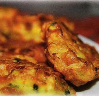 Beignets de courgettes au parmesan