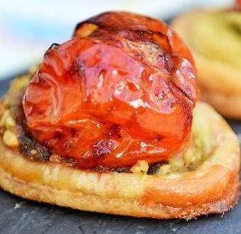 Canapés tomates balsamiques