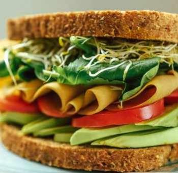 Sandwich avocat-chou