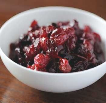 Sauce canneberges -cranberry