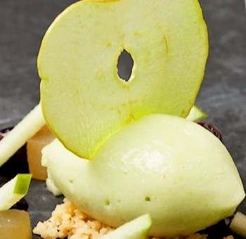 Sorbet à la pomme