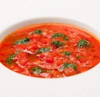 Soupe de tomates détox