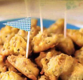 Beignets au tofu sans friture