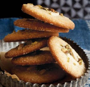 Cookies cardamome et amandes
