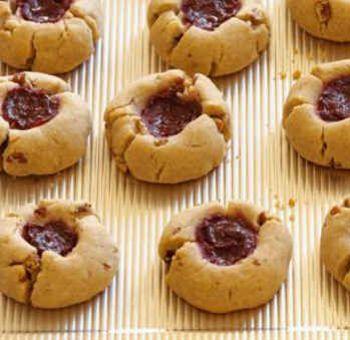 Cookies à la gelée