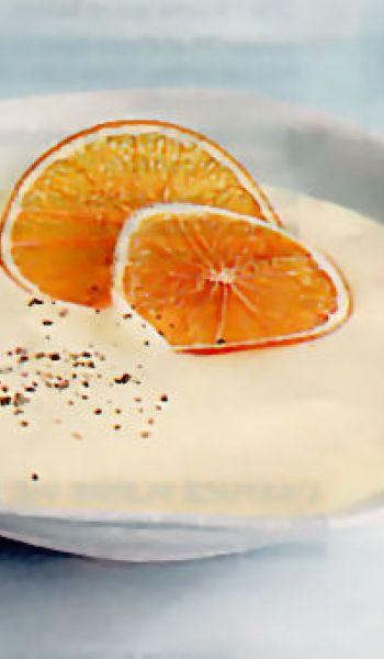 Crème d'artichaut à l'orange