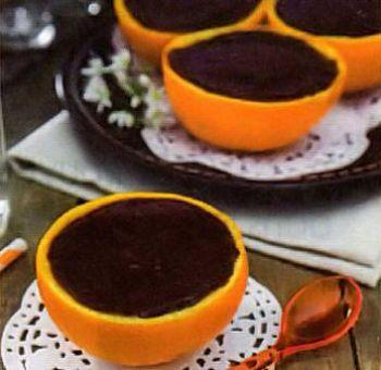 Crème chocolat-orange