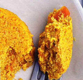 Dariole de carottes et cacahuètes