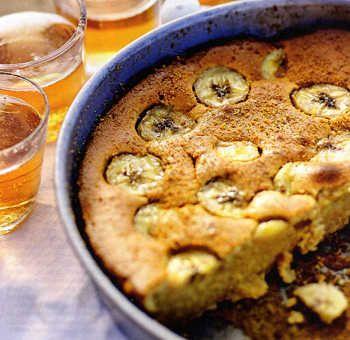 Gâteau cannelé à la banane