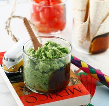 Brocoli en guacamole