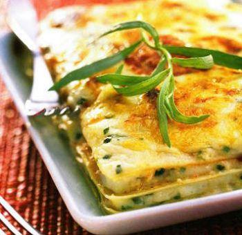 Lasagnes végétariennes à l'estragon