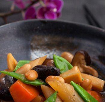 Légumes sautés à la japonaise