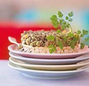 Lentilles au curry