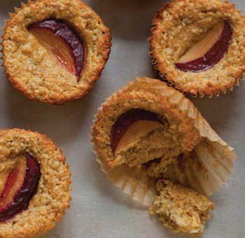 Muffins abricots citron