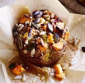 Muffins patate douce avocat