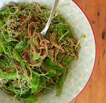 Nouilles aux algues