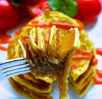 Pancakes à l'ail