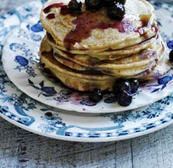 Pancakes à la farine de fèves