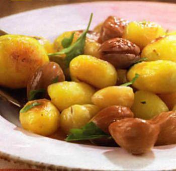Pommes de terre et marrons