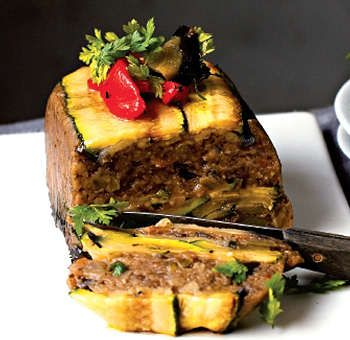 Ratatouille en terrine