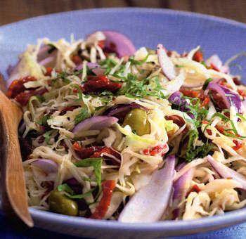 Salade de chou mariné