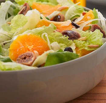 Salade fenouil orange figues