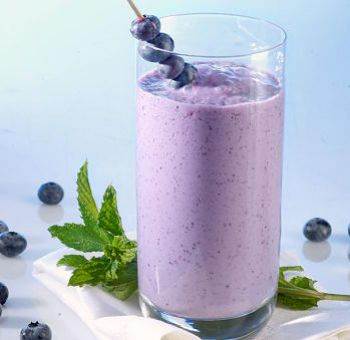 Smoothie cassis végan