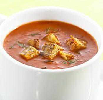 Soupe au tempeh