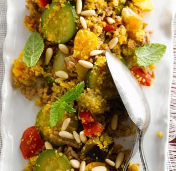 Taboulé de boulgour aux légumes