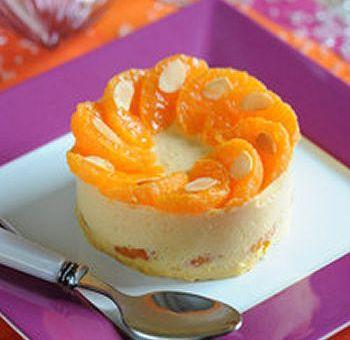 Bavarois aux mandarines