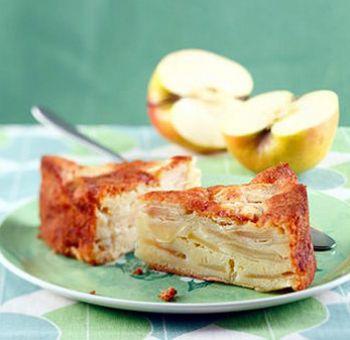 Biscuit au yaourt et aux pommes
