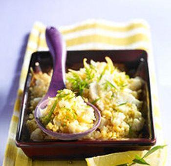 Chou-fleur en salade de boulghour