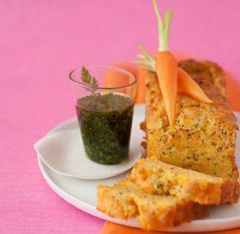 Biscuit salé carotte ricotta