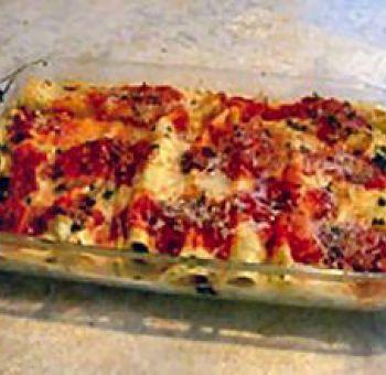 Cannellonis aux poireaux