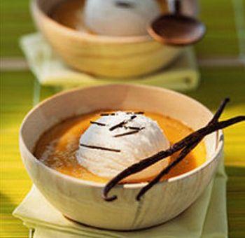 Chaud-froid de potiron coco