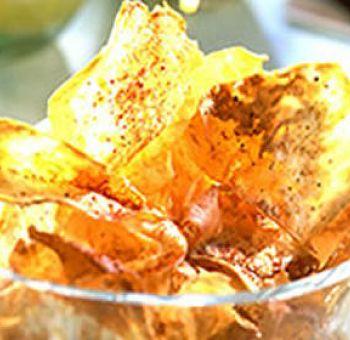 Chips de céleri rave