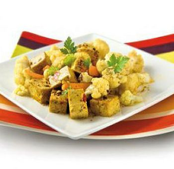 Tofu sauté aux épices
