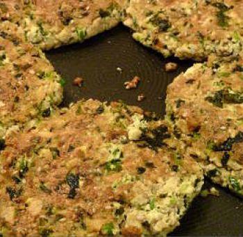 Galettes de tofu aux herbes version 2