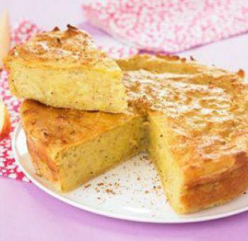 Gâteau pommes et cannelle