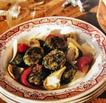 Gnocchis aux épinards et artichauts