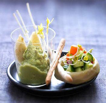 Guacamole d'artichaut
