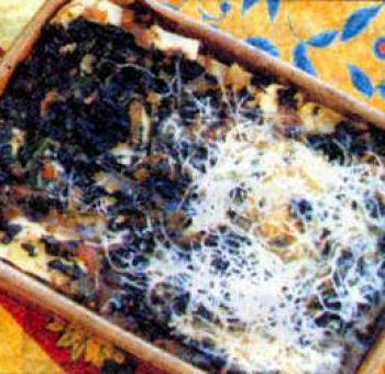 Lasagnes aux blettes à la niçoise