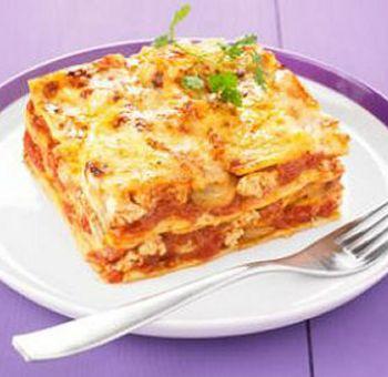Lasagnes aux champignons et tofu