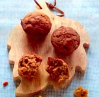 Muffins d'épeautre, sucre de coco et goji
