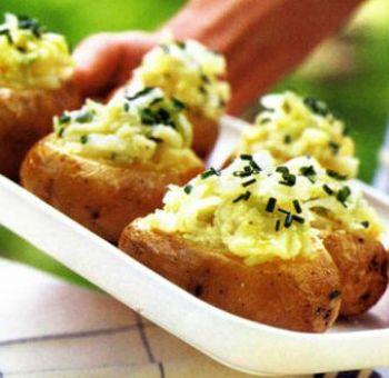 Pommes de terre farcies végétariennes