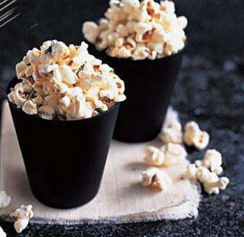 Popcorn au romarin