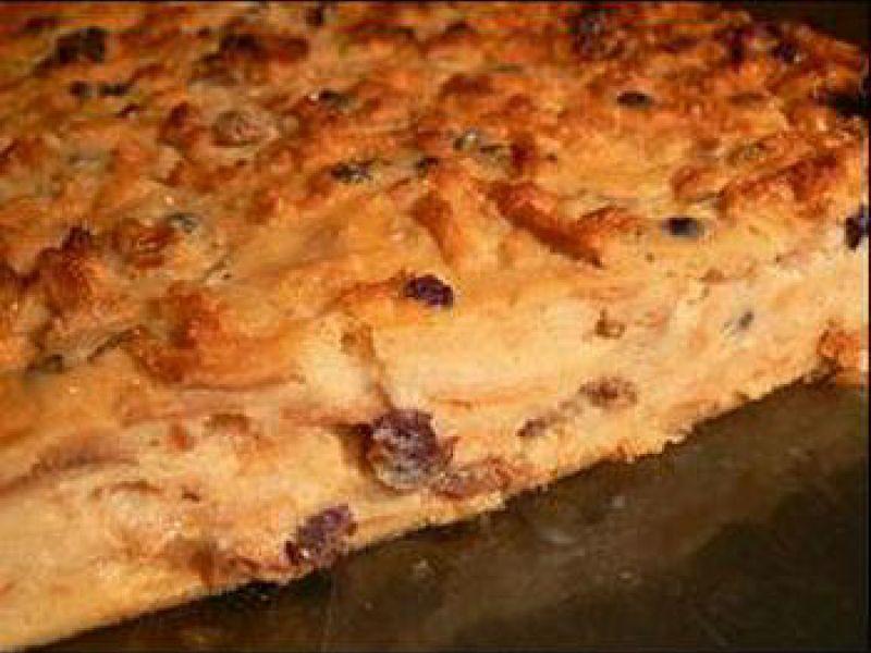 Pudding au pain ou à la brioche