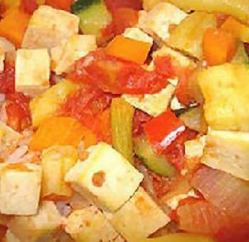 Tofu en ratatouille