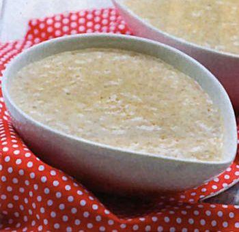Riz et graines de chia au lait de noisettes